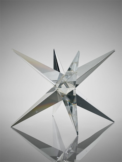 'Yö' (Night) glass sculpture, from the Pro Arte 200 collection