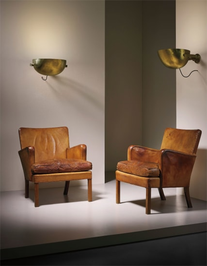 Pair of early 'Easy' armchairs, model no. 5313
