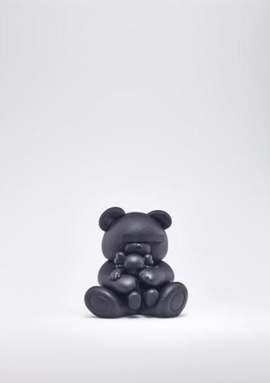 KAWS X JUN TAKAHASHI UNDERCOVER BEAR COMPANION (BLACK)