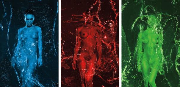 Ice (triptych)