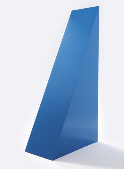 Untitled (Blue Wedge)