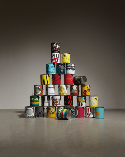 30 Paint Cans from (Dear Ketel One Drinker Hello Again. The Failever of Judgement Part 4)