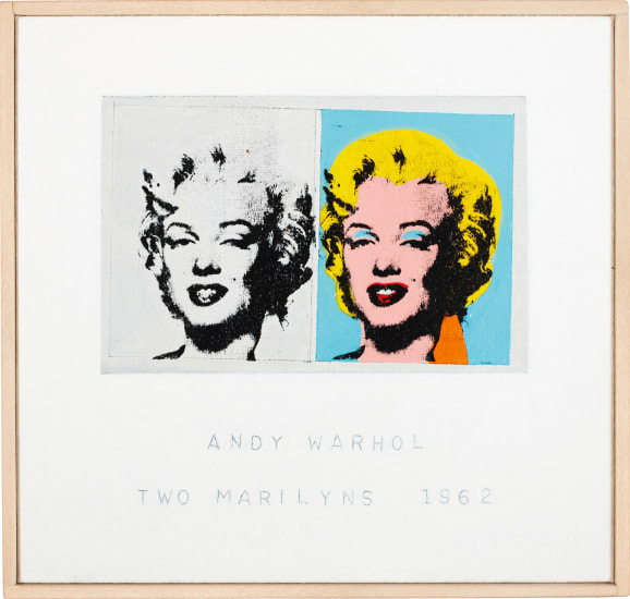 Andy Warhol, 'Two Marilyns', 1962