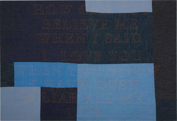 Untitled (How can you believe me...)