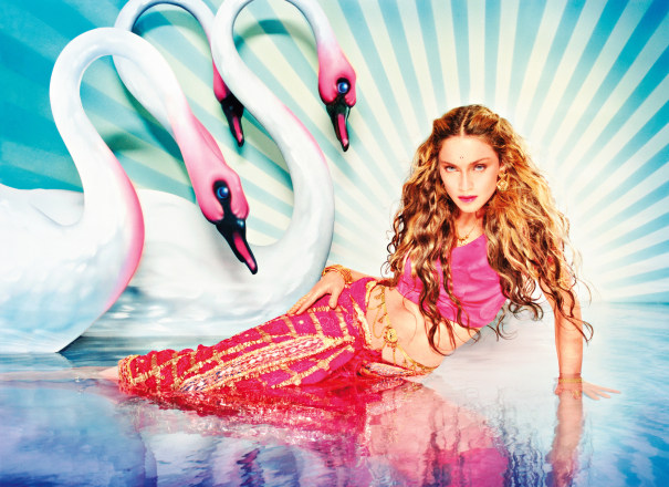 Madonna: Mythical Swans