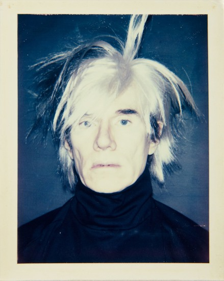 ANDY WARHOL Self Portrait (in Fright Wig), 1986