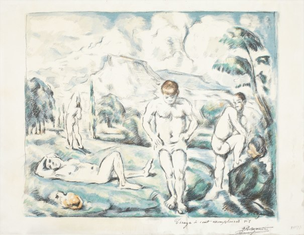 PAUL CÉZANNE The Large Bathers, c. 1896