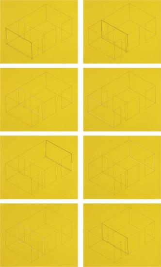 Eight Variations for Galerie Heiner Friedrich