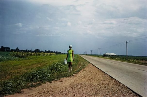 WILLIAM EGGLESTON Untitled (Near Minter City and Glendora, Mississippi), 1970