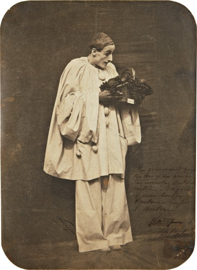 Pierrot with Fruit