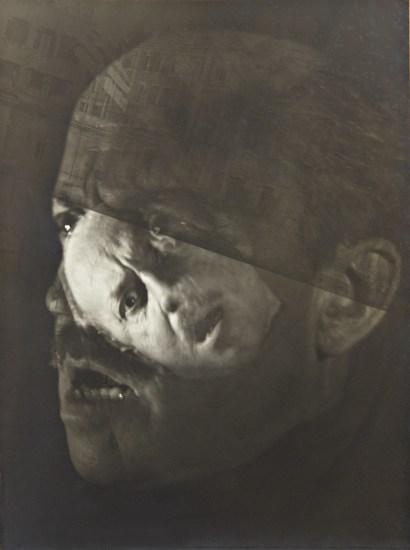 Multiple portrait of Marinetti
