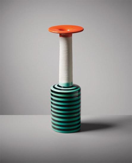 """Rare vase, model no. 181, from the """"Ceramiche"""" series"""
