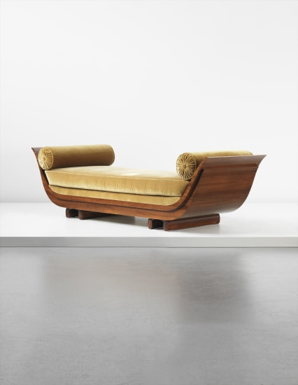 EMILE-JACQUES RUHLMANN 'Gondole' daybed, circa 1925