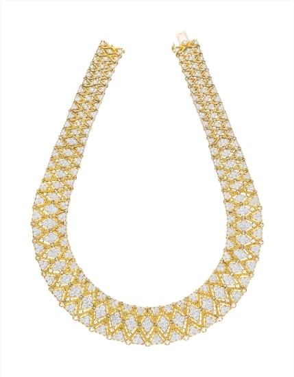 A Gold and Diamond Necklace, Buccellati