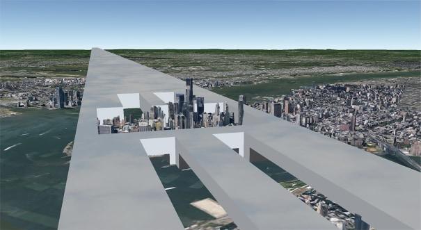 Continuous Monument: Manhattan