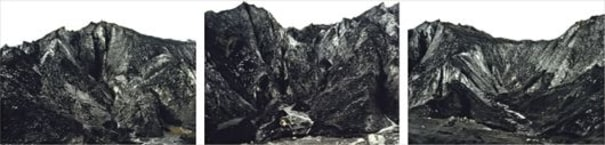 Black Mountains (triptych) from The World In Itself