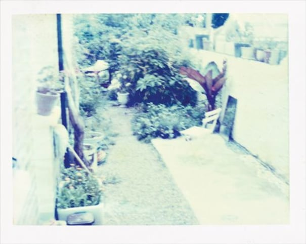 Untitled 6 from Avoided Spaces - Colour Polaroids