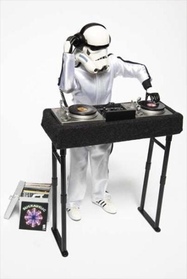 Custom-styled DJ Trooper produced by Medicom