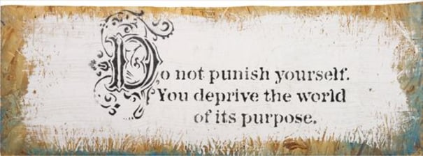 BANKSY Do Not Punish Yourself, 2005