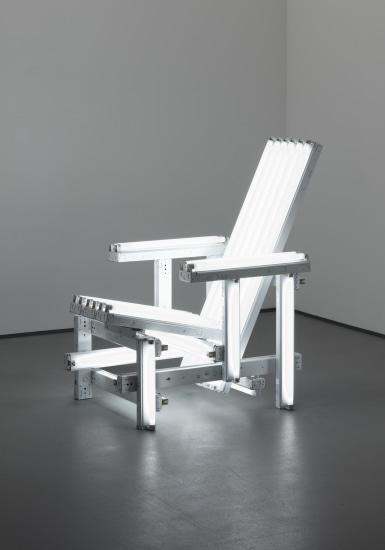 White Electric Chair