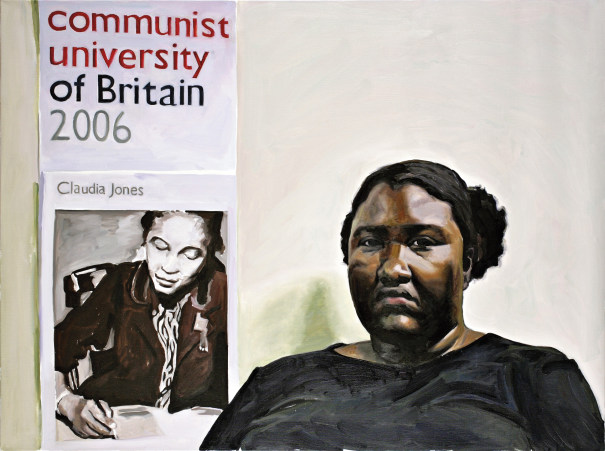 Portrait of Sheltreese McCoy (Communist Party of USA)