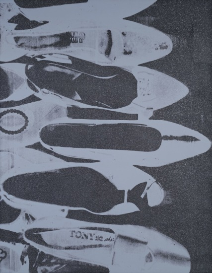 ANDY WARHOL Diamond Dust Shoes, 1980-1981