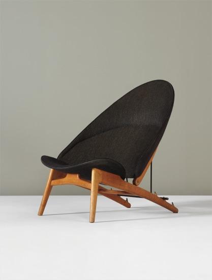 Rare adjustable 'Tub' chair