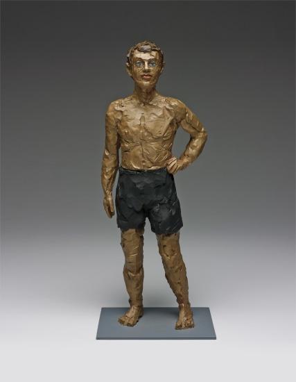 Mann mit kurzer Hose (Man with short pants)