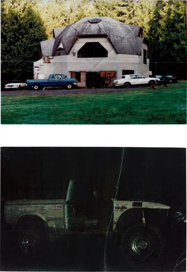 Two works: (i) Geodesic Dome House; (ii) Off Road