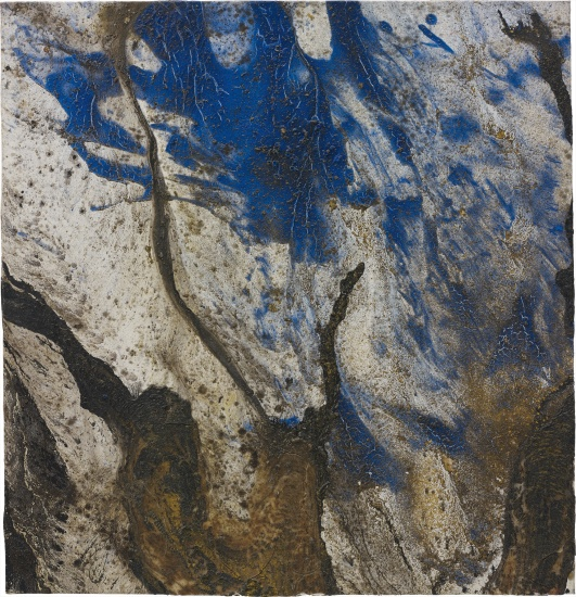 Untitled (blue painting)