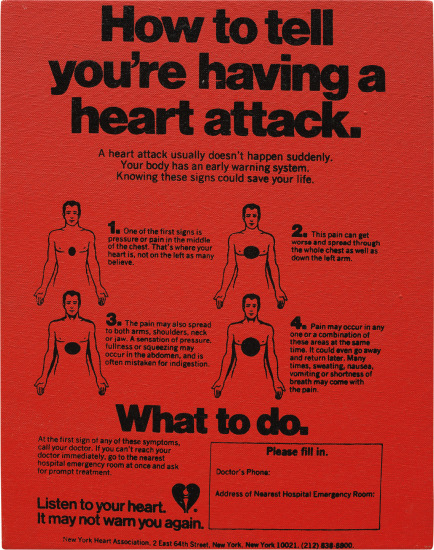 Valentine's Hearts Ads ( ... Having a Heart Attack)