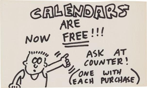 Pop Shop Signage (Free Calendars)