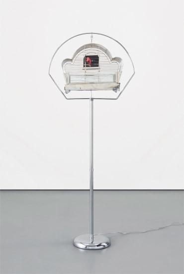 Deco Cage (Red Bird)