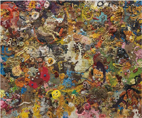 Julian Opie shahzona in 3 Parti Puzzle