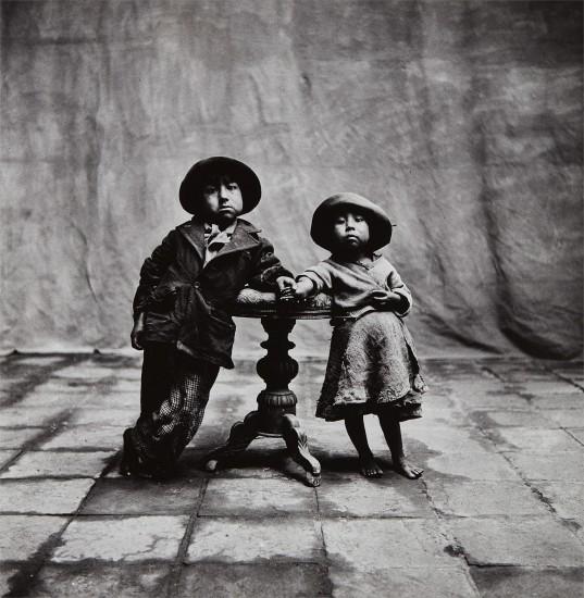 0e92d9f8b98866 Irving Penn - Cuzco Children, Peru, 1948 | Phillips