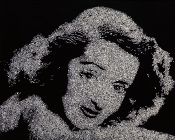 89bcf727d1a0fd Vik Muniz - Bette Davis from Pictures of Diamonds, 2004 | Phillips