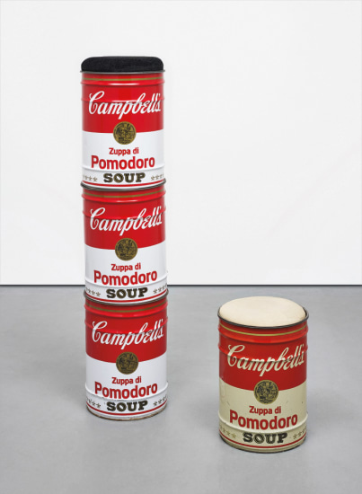 Four works: (i-iv) Omaggio ad Andy Warhol