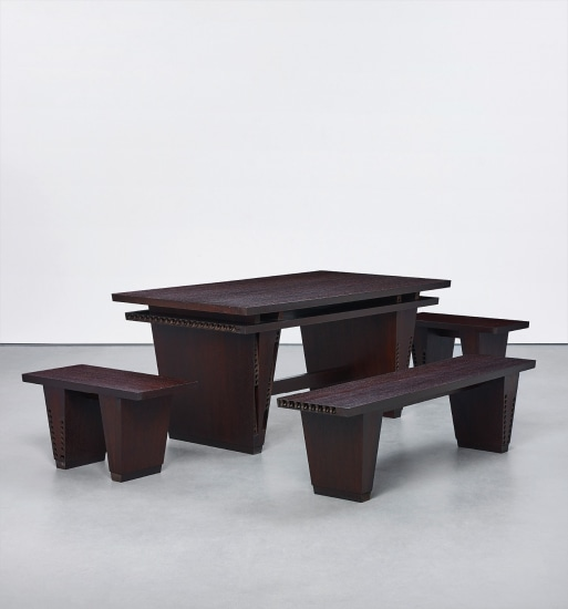 Table and Three Benches