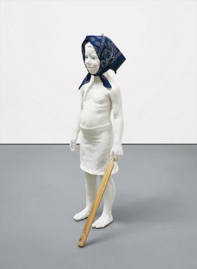 Clara, Kopftuch mit Stock
