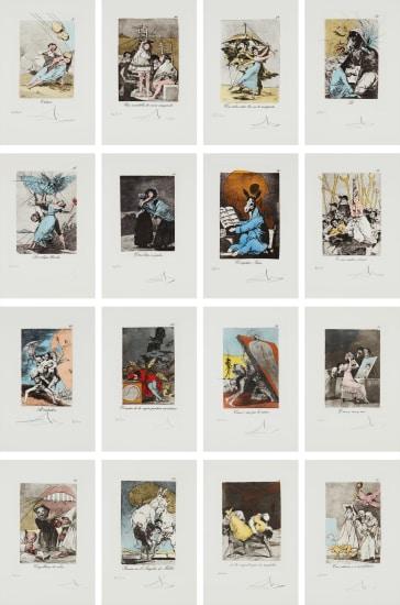 Salvador Dalí - Les Caprices de Goya de Dali (Dali's