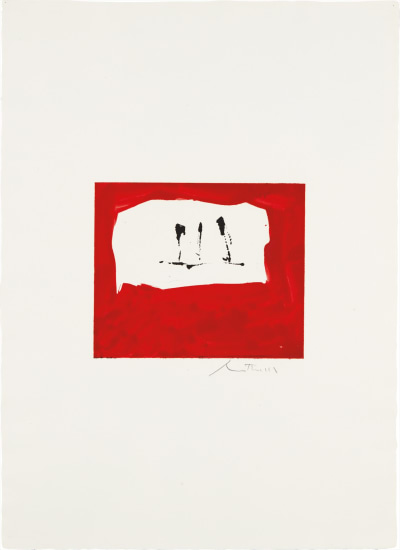 Untitled (Phoenician Red)