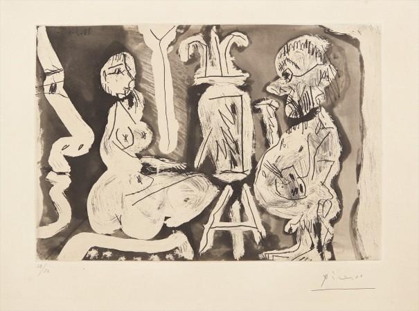 Peintre et son modèle (Painter and his Model)