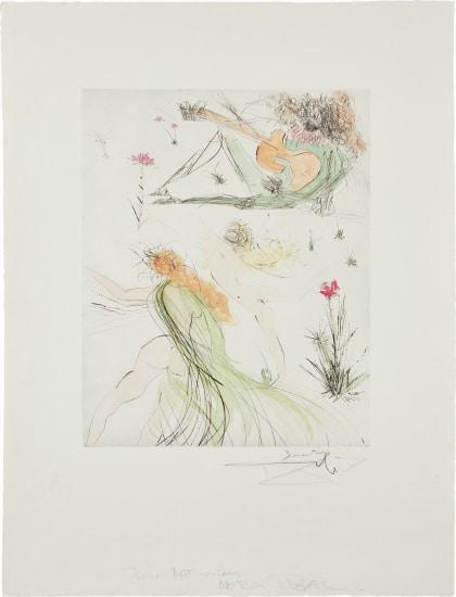 Salvador Dalí - La Joie de vivre (The Joy of Life), 1974 | Phillips