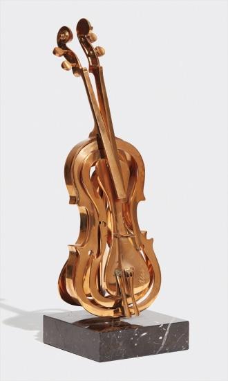 Violin découpage