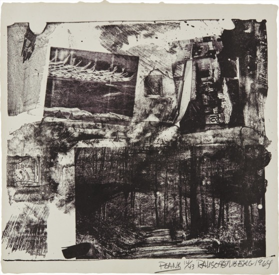 Plank, from XXXIV Drawings for Dante's Inferno