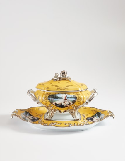 Madame de Pompadour (née Poisson) soup tureen