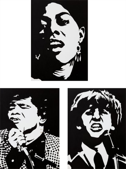 Dionne Warwick; James Brown; and Ringo