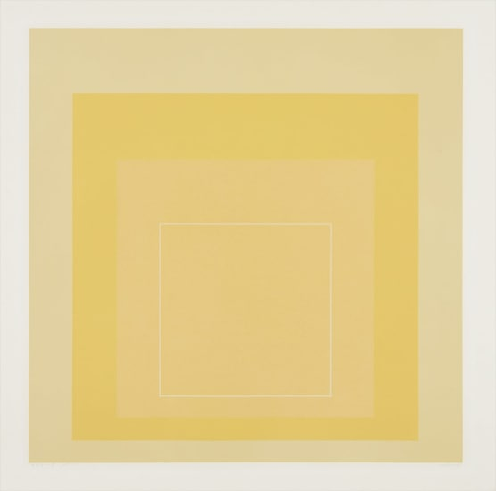 WLS I, from White Line Squares (Series I)