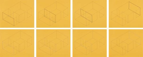 Variations for Gallery Heiner Friedrich