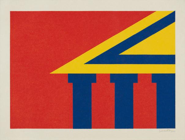 Benzinger Print (Parthenon)